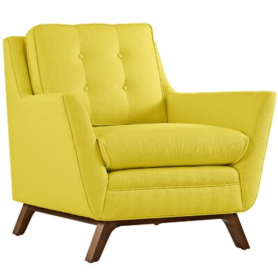 Beguile Arm Chair Upholstery: Sunny