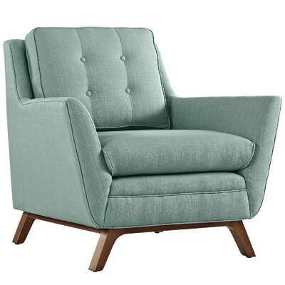 Beguile Arm Chair Upholstery: Laguna
