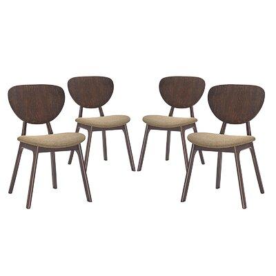 Murmur Dining Side Chair Upholstery: Latte