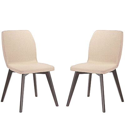Proclaim Dining Side Chair Upholstery: Beige