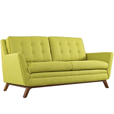 Beguile Loveseat Upholstery: Wheatgrass