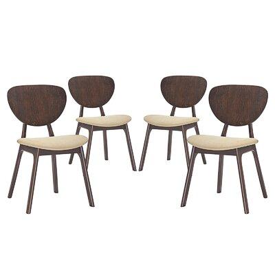 Murmur Dining Side Chair Upholstery: Beige