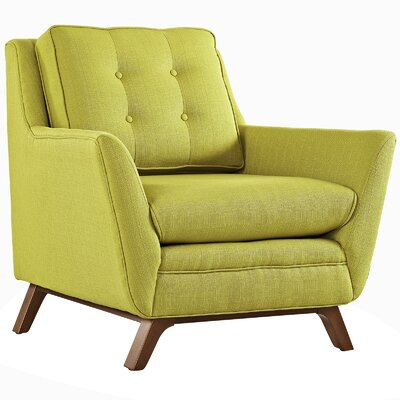 Beguile Arm Chair Upholstery: Wheatgrass