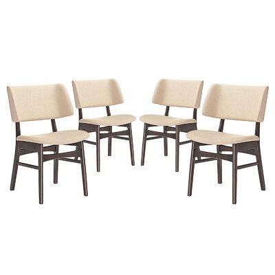 Vestige Dining Side Chair Upholstery: Beige