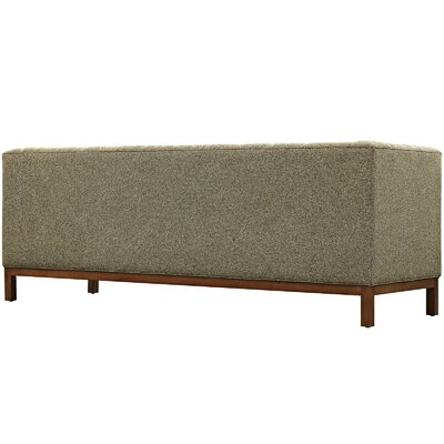 Panache Chesterfield Sofa Upholstery: Oatmeal