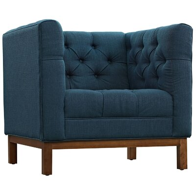 Panache Armchair Color: Azure