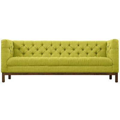 Panache Chesterfield Sofa Upholstery: Wheatgrass