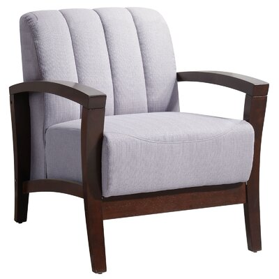 Enamor Arm Chair Color: Gray