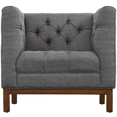 Panache Armchair Upholstery: Gray