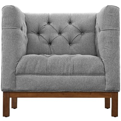Panache Armchair Upholstery: Expectation Gray