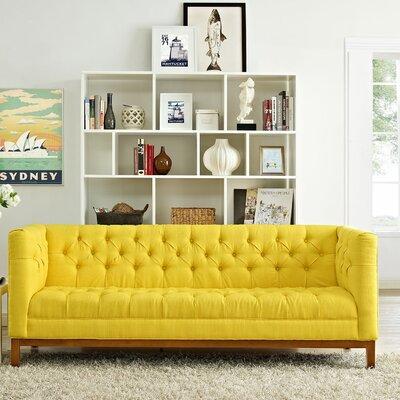 Panache Chesterfield Sofa Upholstery: Sunny