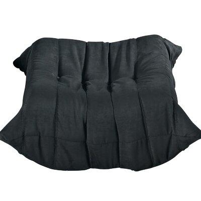 Waverunner Ottoman Upholstery: Black