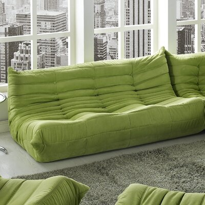 Waverunner Sofa Upholstery: Green