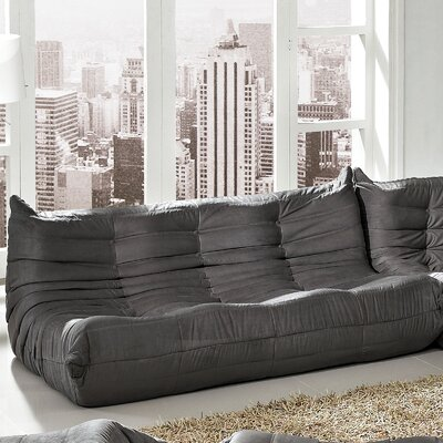 Waverunner Sofa Upholstery: Light Gray