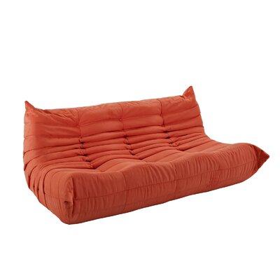 Waverunner Sofa Upholstery: Orange