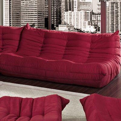 Waverunner Sofa Upholstery: Red