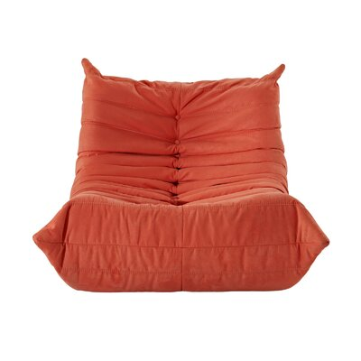 Waverunner Bean Bag Chair Upholstery: Orange