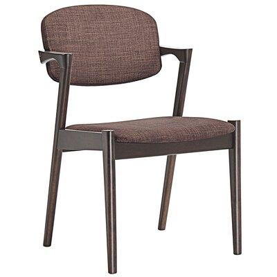 Spunk Armchair Upholstery: Walnut Mocha
