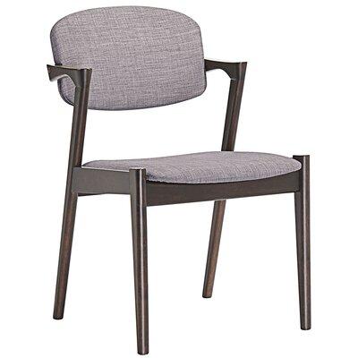Spunk Armchair Upholstery: Walnut Gray
