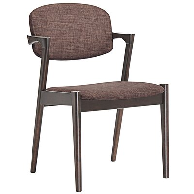 Spunk Arm Chair Upholstery: Mocha