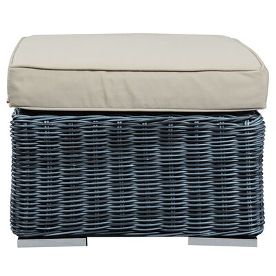 Summon Outdoor Patio Ottoman