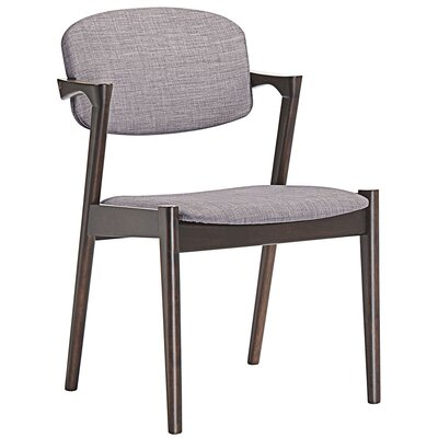Spunk Arm Chair Upholstery: Gray