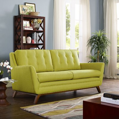 Beguile Loveseat Upholstery: Wheatgrass