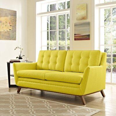Beguile Loveseat Upholstery: Sunny