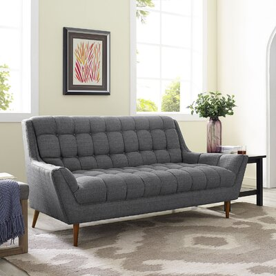 Freeborn Sofa Upholstery: Expectation Gray