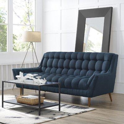 Response Sofa Upholstery: Azure