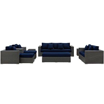 Sunbrella Sofa Set Cushions 324 Product Photo