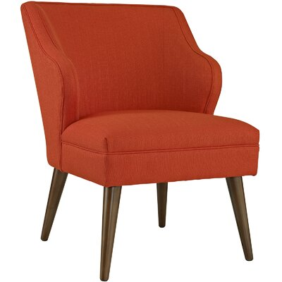Swell Side Chair Upholstery: Atomic Red