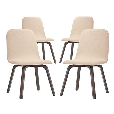 Assert Side Chair Finish: Beige