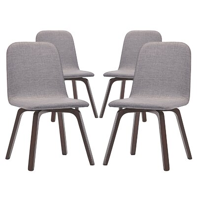 Assert Side Chair Color: Gray