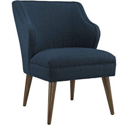 Swell Side Chair Upholstery: Azure
