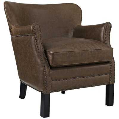 Key Wing back Chair Color: Brown