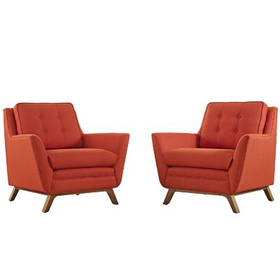 Beguile Armchair Upholstery: Atomic Red