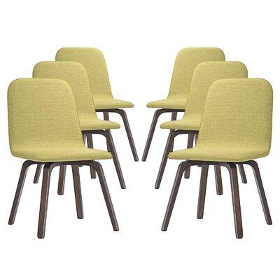 Assert Side Chair Upholstery: Green
