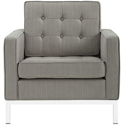 Gayatri Armchair Upholstery: Granite