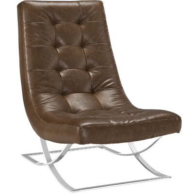 Drive Lounge Chair Color: Brown