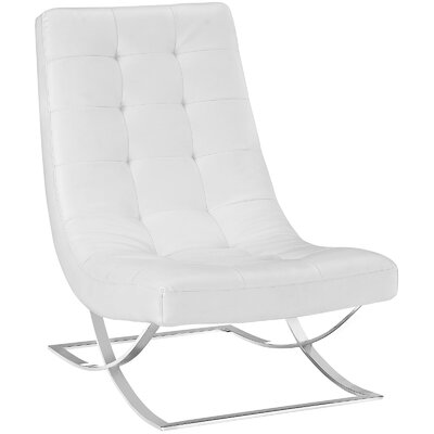 Drive Lounge Chair Color: White