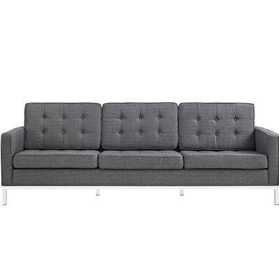 Gayatri Contemporary Sofa Upholstery: Gray