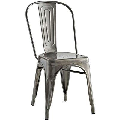 Ashlyn Metal Side Chair Finish: Gunmetal