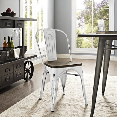 Ashlyn Dining Chair Finish: White