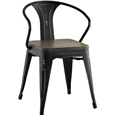 Promenade Arm Chair Finish: Black