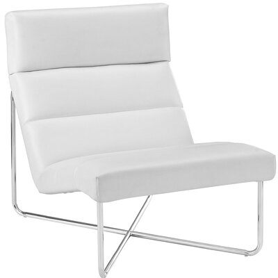 Reach Lounge Chair Color: White