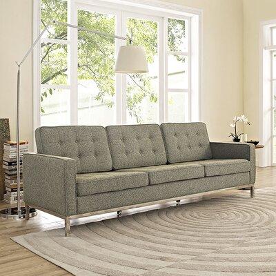 Gayatri Contemporary Sofa Upholstery: Oatmeal