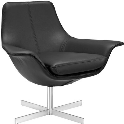 Release Lounge Chair Upholstery: Black