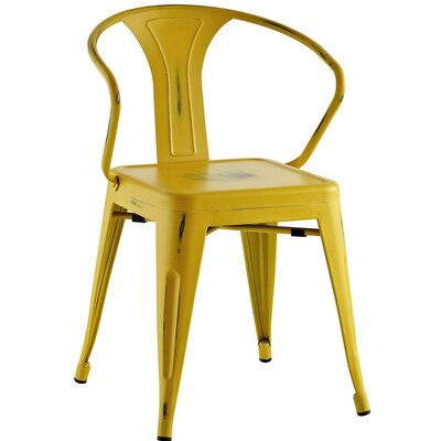 Ashlyn Arm Chair Finish: Yellow