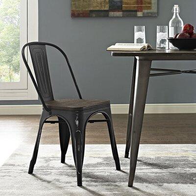 Ashlyn Dining Chair Finish: Black